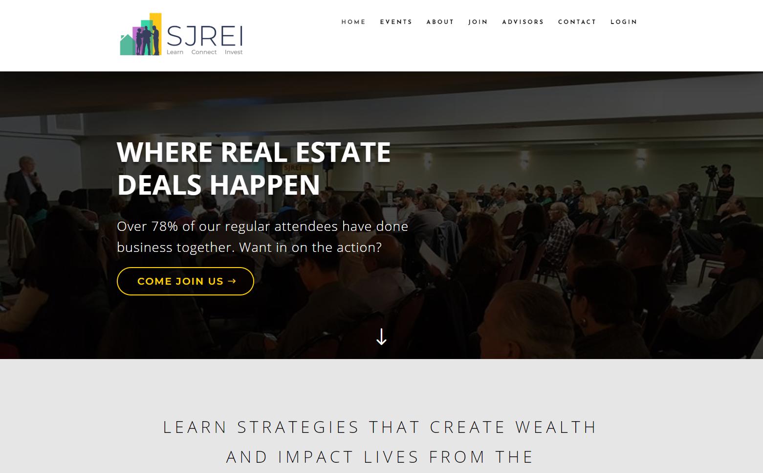 SJREI - Website Design & Development